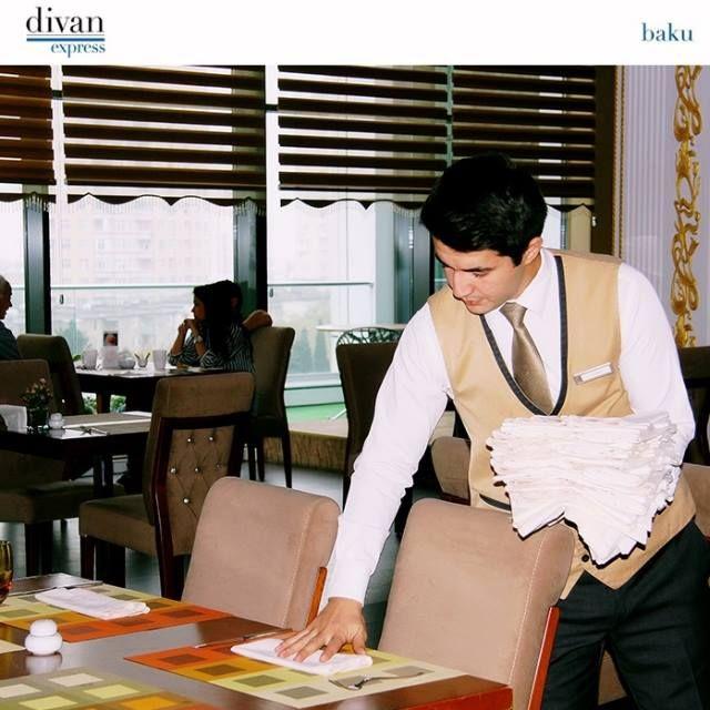 Zumrud Restroant in Divan Express Baku Hotel