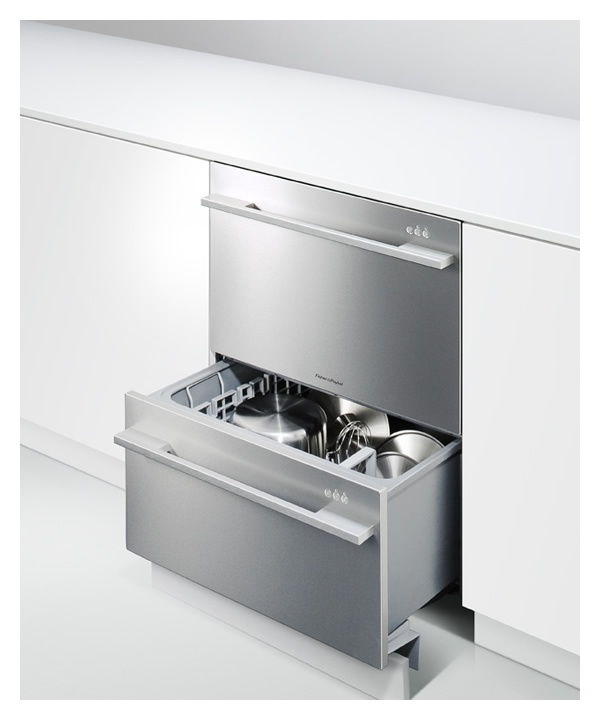 Fisher & Paykel Double DishDrawer DD24DDFX7