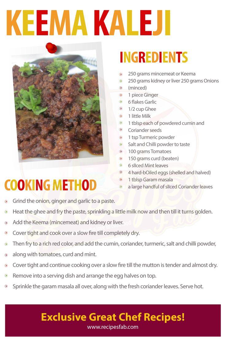 Goat liver with dill leaves indian kitchen cooking recipes -  Keema Kaleji Eid Recipesdesi Foodramadanpakistanibrain