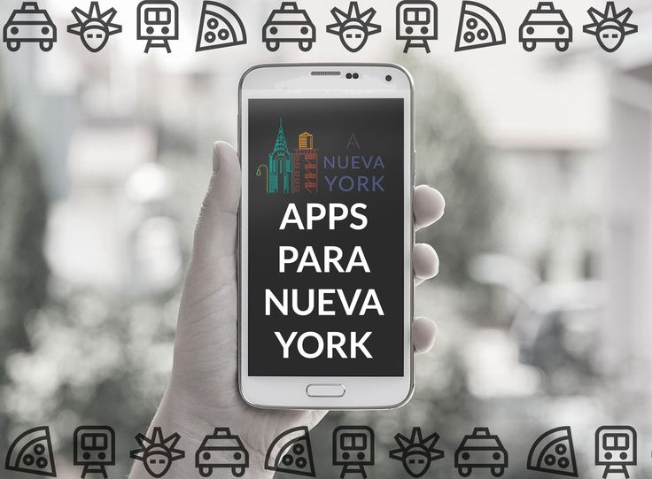 Aplicaciones útiles para viajar a Nueva York. Instálalas en tu móvil para tener acceso fácil a transporte, comida, atracciones, entradas de Broadway...