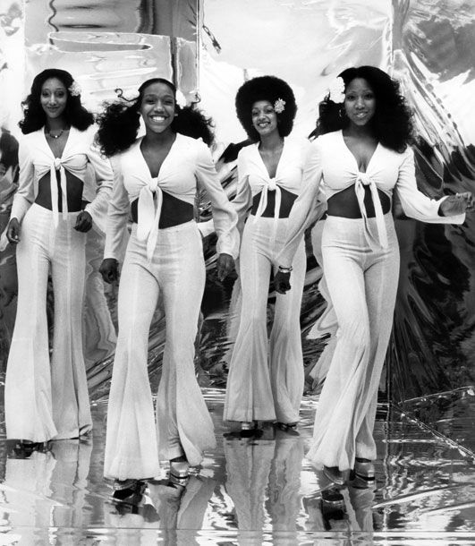 """Sister Sledge...I met them at National Record Mart back when the Pirates used """"We Are Family"""" as their theme song in 1979"""
