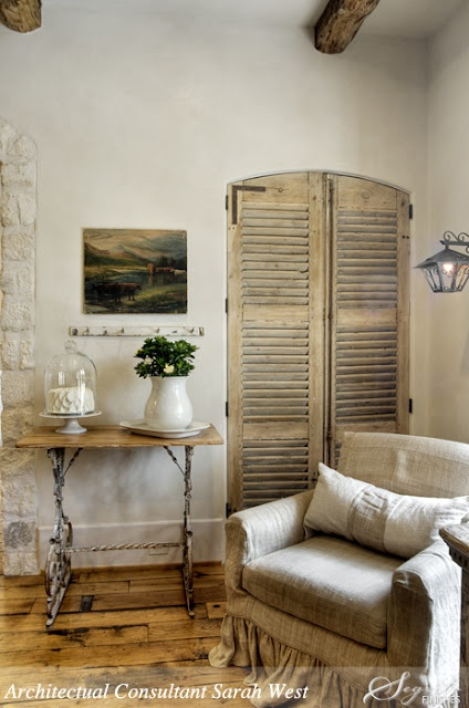 From the pages of : Segreto - Secrets to Finishing Beautiful Interiors by Leslie Sinclair