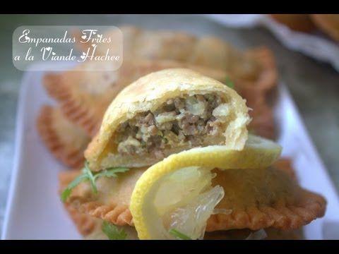 Chaussons ou Empanadas a la viande hachees Sans Gluten - YouTube