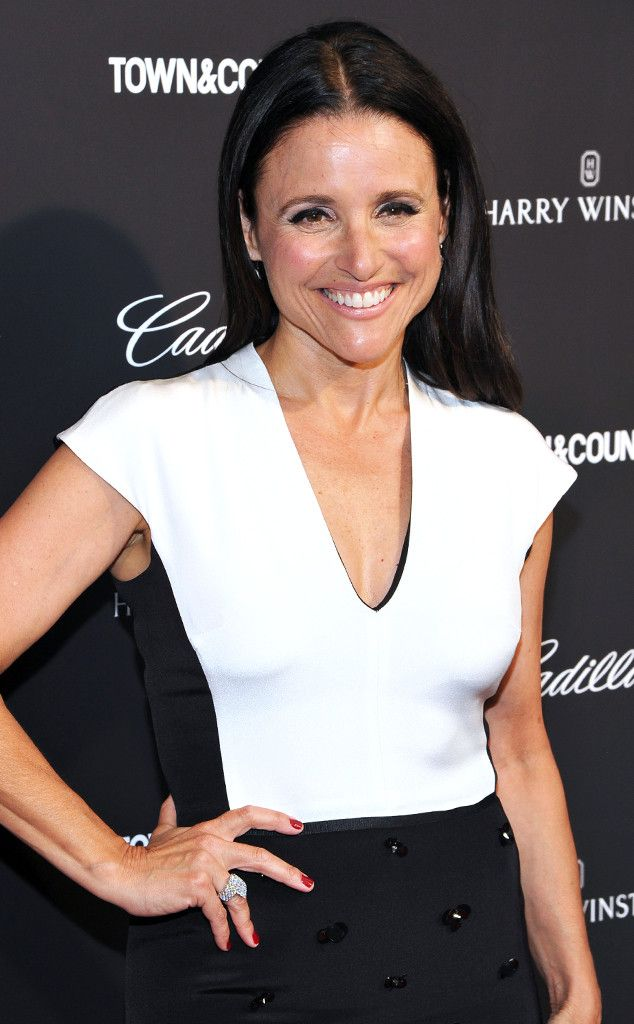 Julia Louis-Dreyfus  ~   Madam Vice President goes classic in black and white for a screening of her husband's documentary Generosity of Eye in NYC.