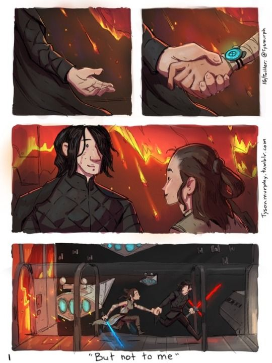 How TLJ should've gone *descends swiftly into hell*