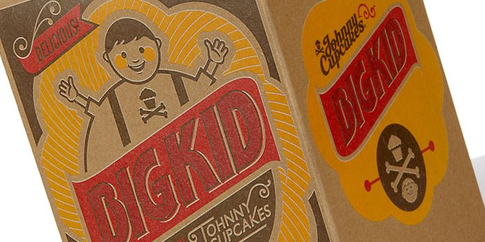 big kid johnny cupcakesPackaging Design