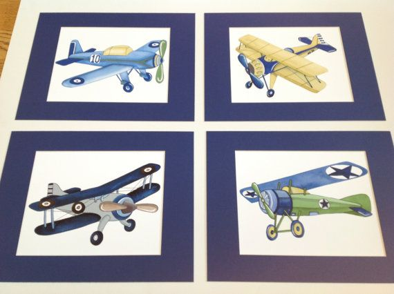 Hey, I found this really awesome Etsy listing at https://www.etsy.com/listing/182403712/vintage-airplanes-boys-nursery-art