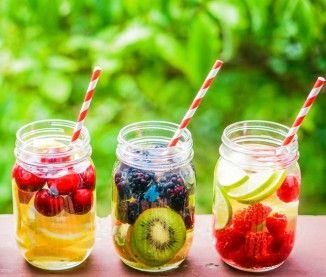 La recette minceur de la detox water