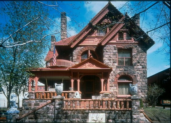 The Molly Brown House-The house was built in the 1880s by architect William A. Lang.  It was purchased by James Joseph Brown (J.J.), Margaret's husband, in 1894 and the title was transferred to Margaret in 1898.