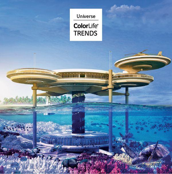 Con la necesidad de maximizar el espacio que tenemos disponible, las tecnologías se focalizan en oportunidades submarinas y de líneas de lujo.  #Universe #ComexTrends #Comex #Sea #Colors