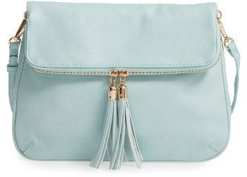 Bp. Foldover Crossbody Bag - Blue