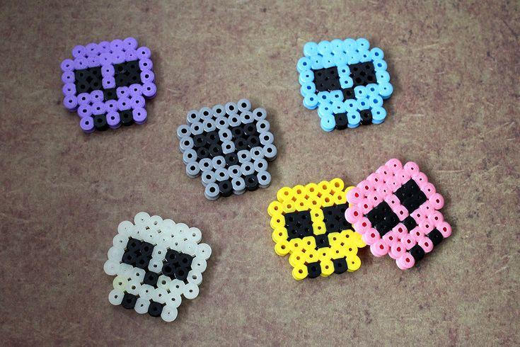 hama, bügelperlen, perler, iron beads, spielwaren-kroell, halloween, skull