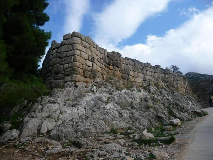 Clouds on Mycenae