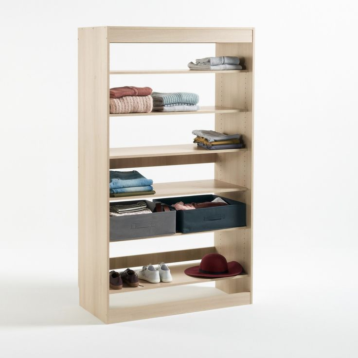 Build Shoe Tidy Wardrobe Module   Build your own wardrobe. The Build shoe tidy module adapts to your needs and your space. It has 6 tilting horizontal shelves that are adjustable in height and ideal for storing boots, sandals and shoes #storage #furniture #wardrobe