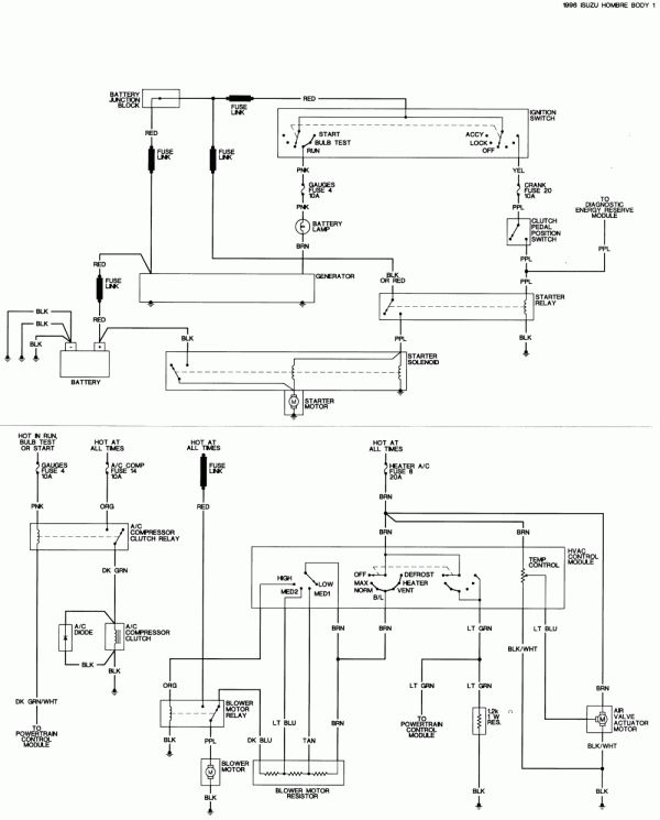 12 1996 Izuzu Electric Seat Wiring Diagram Wiring Diagram In