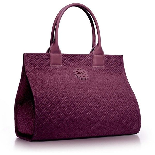 A perennial favorite, the Ella Quilted Tote is made of nylon and finished with glossy coated handles and trim. Updated with a stitched diamond pattern, this ev…