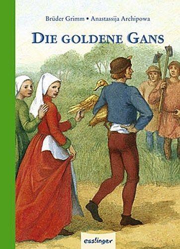 NEU-Wilhelm-Grimm-Die-goldene-Gans-shipping-worldwide