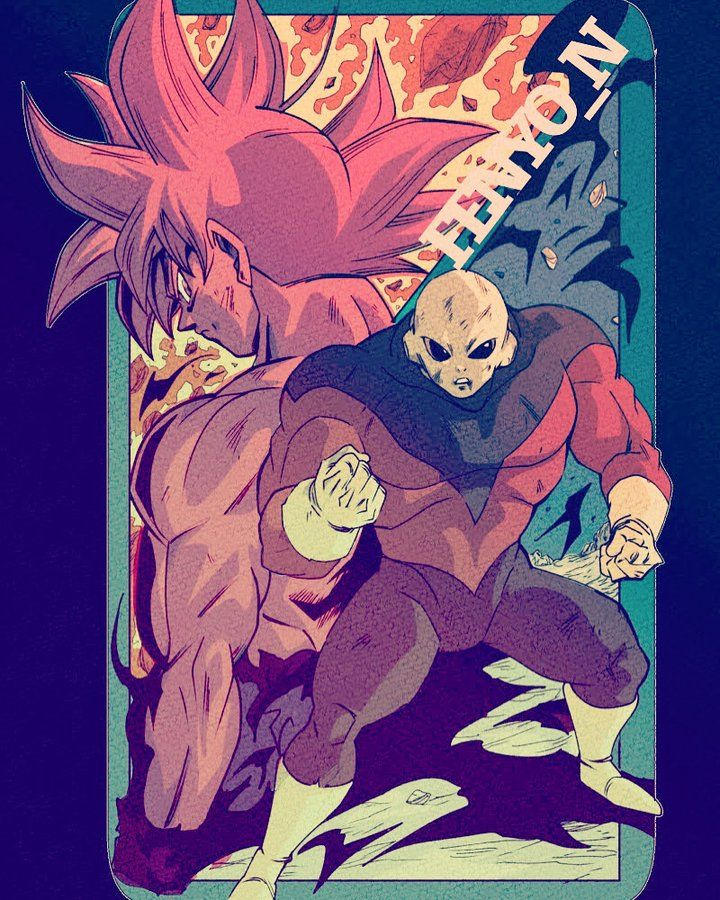 Goku Vs Jiren Anime Dragon Ball Super Dragon Ball Artwork Dragon Ball Super Manga