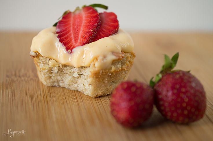 Ταρτάκια φράουλας! | γλυκά | χωρίς γλουτένη | συνταγές | δημιουργίες| διατροφή| Blog | mamangelic