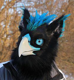realistic homemade bird mask - Google Search