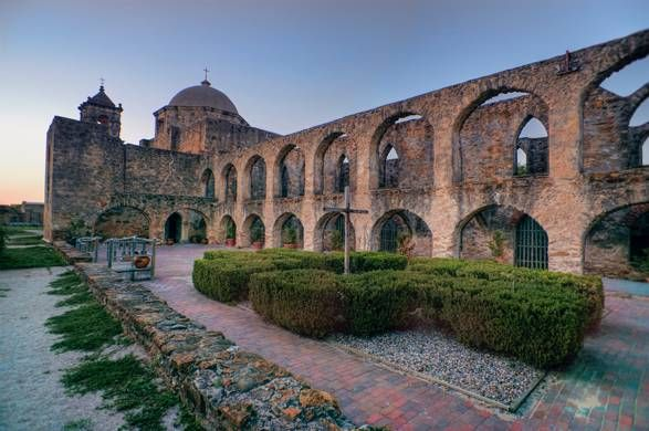 Though the Alamo always gets top billing, San Antonio is home to more than just the one historic mission. Missions Conception, San Jose, San Juan, and Espada make up the San Antonio Missions National Park located along the San Antonio River.