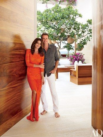 On the Baja peninsula, Cindy Crawford and Randy Gerber team with their longtime pal and business partner to build stunning neighboring retreats where friends and family come together | archdigest.com