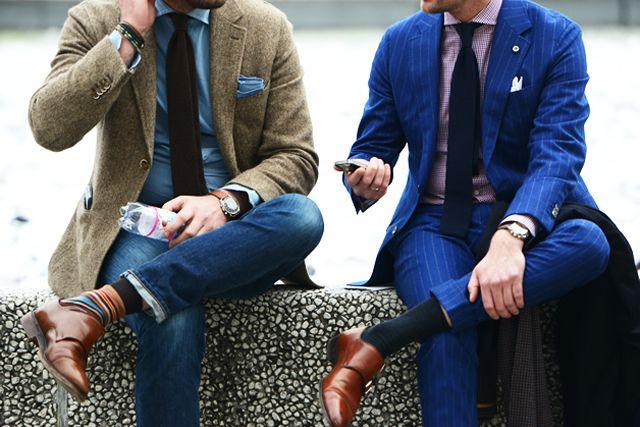 If anything screams men's fashion, it's Pitti Uomo.