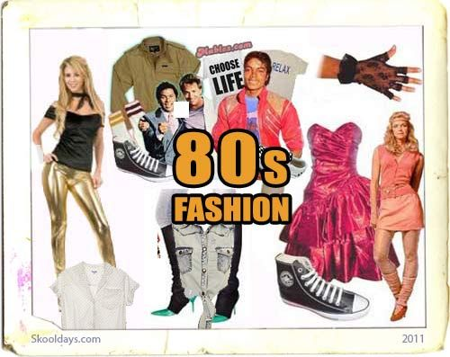 Fashion In The 80s Eighties Fashion And Trends Revealed