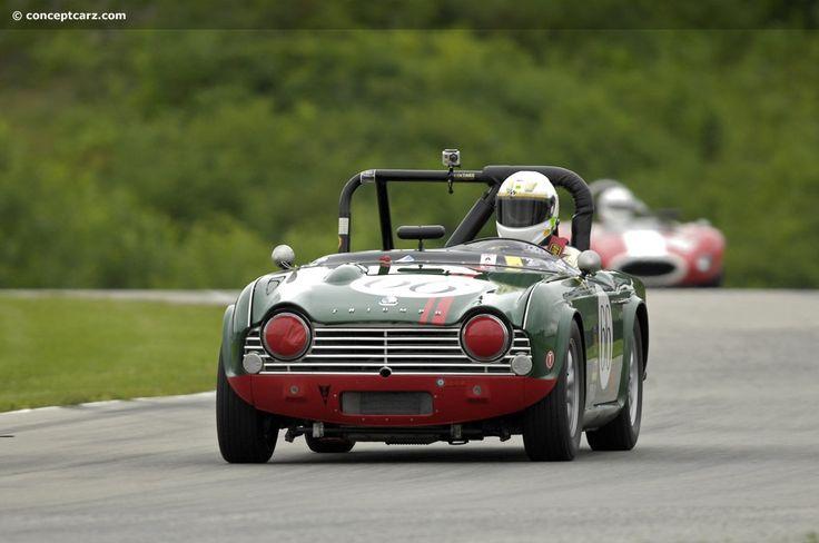 1962 Triumph TR4 at the Kohler International Challenge