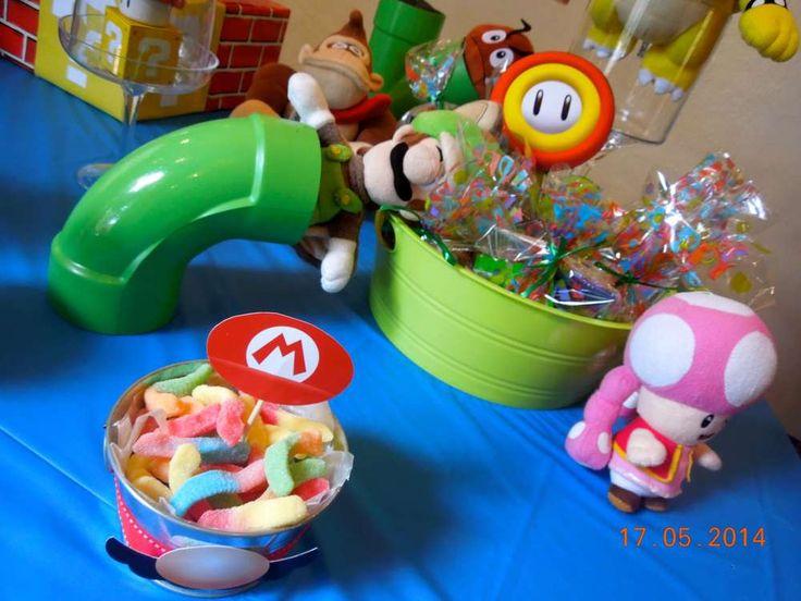 Super Mario Bros Birthday Party Ideas | Photo 6 of 30