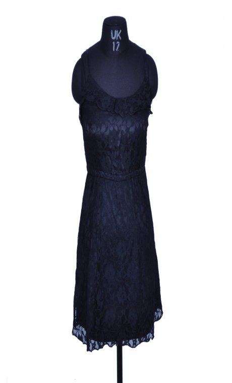 H&M Divided Black Lace Dress