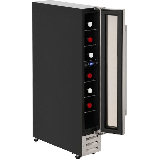 Newworld Unbranded 150BLKWC Built In Wine Cooler - Black