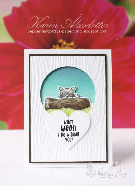 Kraftin Kimmie Guest - Release Day Hop - Woodland Wonders  For more info: I share my creative projects here: https://www.instagram.com/peppermintpatty42/ and on my blog: http://peppermintpattys-papercraft.blogspot.se and on pinterest; https://www.pinterest.se/peppermint42/my-watercolors/