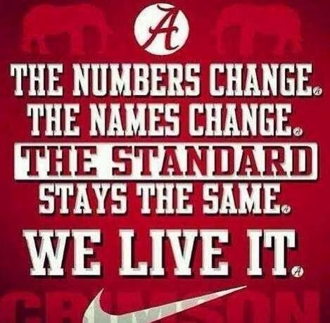 Greatest football program of all time.  ROLL TIDE! ~ You'll also want to check out ~ RollTideWarEagle.com ~ great sports stories, audio podcast and FREE on line tutorial of college football rules. #CollegeFootball #RollTide #Alabama