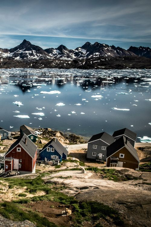 Greenland! Not only is the landscape exquisite, but the towns are completely picturesque and the history is preserved and able to on almost constant display.