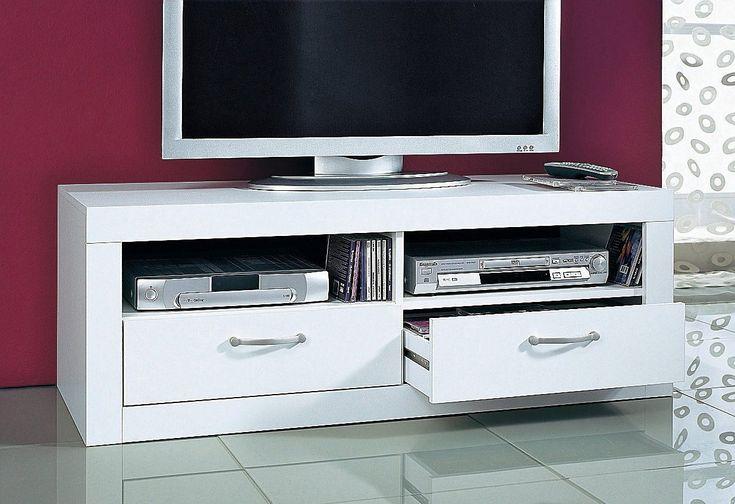 TV-Tisch weiß, mit Schubkästen, yourhome Jetzt bestellen unter: https://moebel.ladendirekt.de/wohnzimmer/tv-hifi-moebel/tv-lowboards/?uid=9e9fda2e-4a56-5a40-b836-aff9c33d5549&utm_source=pinterest&utm_medium=pin&utm_campaign=boards #tvlowboards #wohnzimmer #tvhifimoebel
