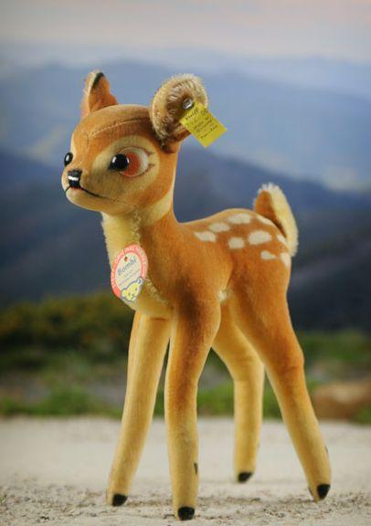 Vintage Steiff Walt Disney Bambi | Produced 1959 to 1967