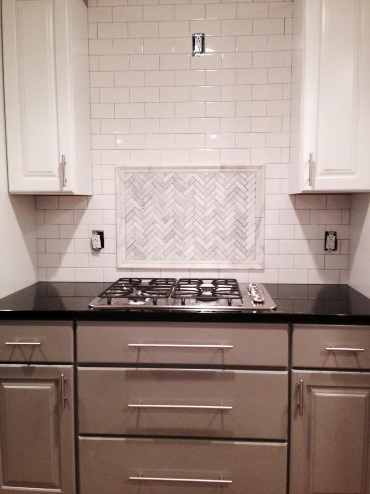 kitchen by link renovations modern with white grey cabinets white subway tile backsplash wei u bahn fliese aufkantunggraue - Ubahnaufkantung Grau