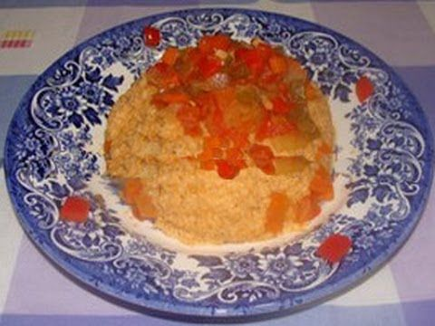 Cuscus o cous-cous con verduras al estilo árabe receta en español by Pilar