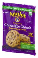 Annie's Organic Chocolate Chip Cookies Dough