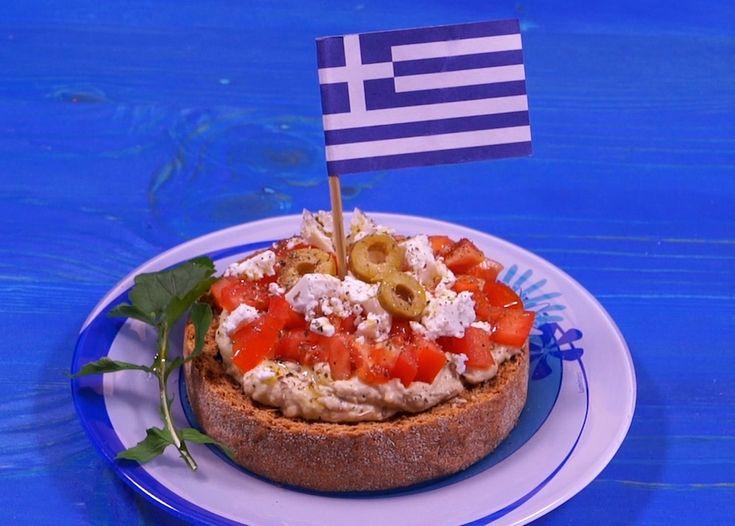 Humus Ntakos: Recipe