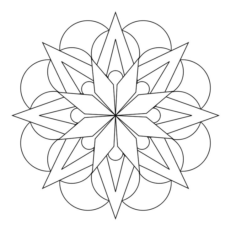 mandala designs flower - Google Search | colouring | pages ...