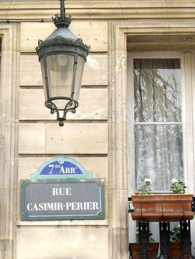 La rue Casimir-Périer  (Paris 7ème)