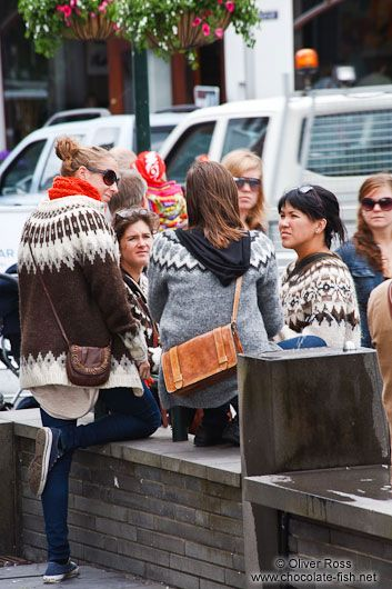 lopi sweaters on the street