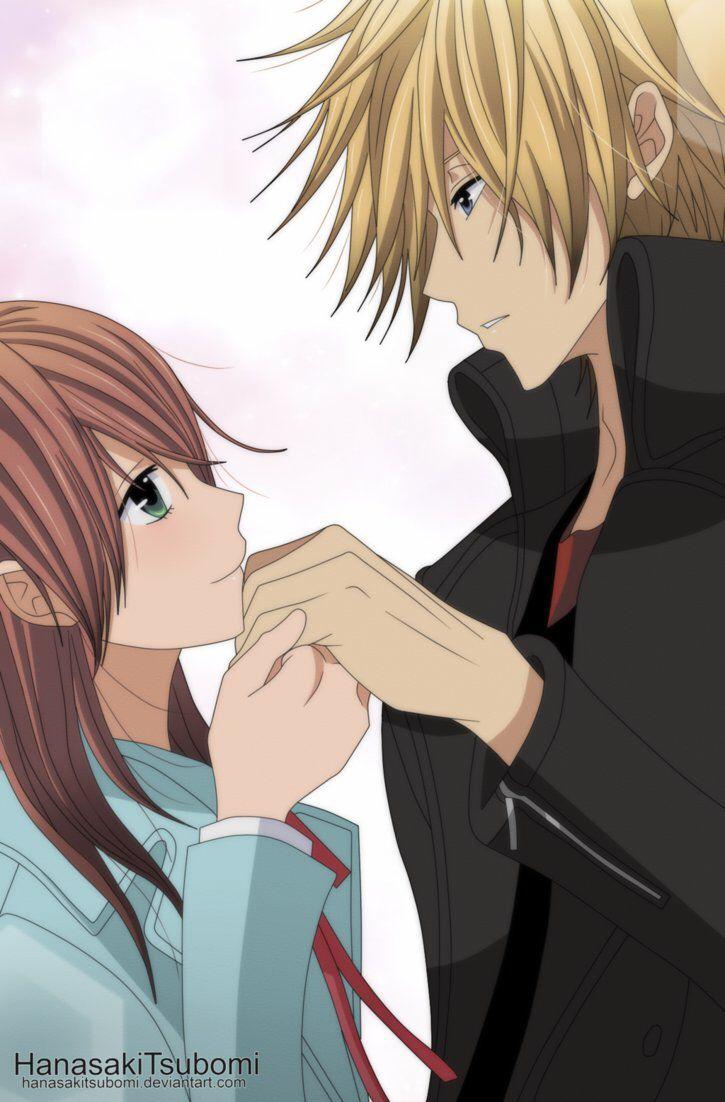 15 Pin Dengeki Daisy Yang Wajib Dilihat Anime Ciuman Pasangan