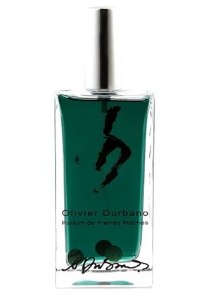 Olivier Durbano, Jade. Jade is the symbol of eternal life, symbol of love and virtue, as well as symbol of absolute power. Jade is also the stone of honesty linked to power. It is middleness, virtue, tolerance, harmony as well as inner peace, justice and modesty. Top notes (aromatic): green tea, badiane, mint, cardamom; Middle notes (spicy floral): orris, jasmine, China canel; Base notes (woody amber): amber, patchouli, vetiver, moss, musk, immortal, mathe.
