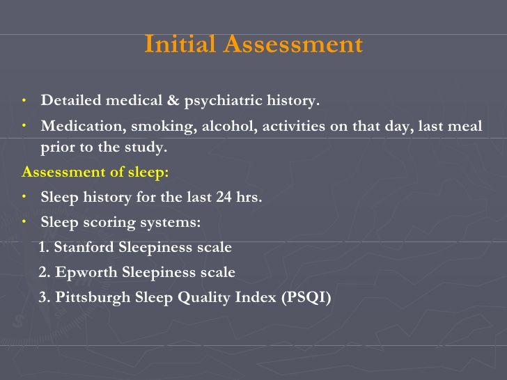 Polysomnography Recording And Sleep Staging Staging Sleep
