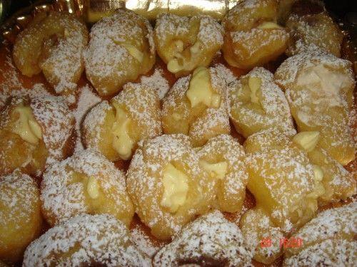 vaniglia e cioccolato: Bignè soufflè fritti di Sal De Riso
