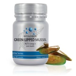 New Zealand GREEN LIPPED MUSSEL. Natural source of Chondroitin and Glucosamine.