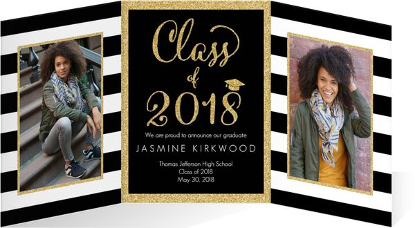 tri fold graduation announcements photography products pinterest